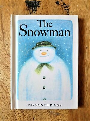 £125 • Buy SIGNED MINIATURE EDITION Of THE SNOWMAN. RAYMOND BRIGGS (FATHER CHRISTMAS). 1ST
