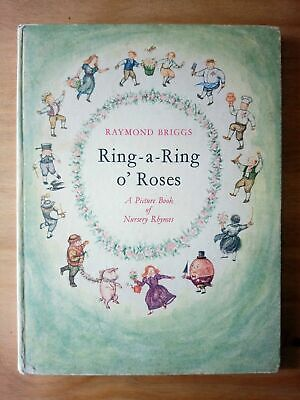 £29 • Buy 1962 FIRST EDITION Of RING A RING O ROSES By RAYMOND BRIGGS (THE SNOWMAN) FIRST