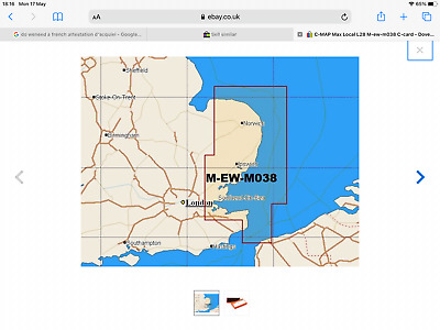 £60 • Buy C Map Nt Max 2010 Dover Strait To Great Yarmouth
