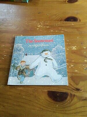 £2 • Buy The Snowman. A Story In Pictures. Based On The Story By Raymond Briggs.