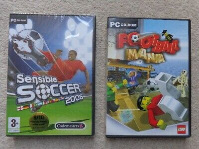 £3.99 • Buy Sensible Soccer 2006 (PC CD) (New) & LEGO FOOTBALL MANIA (Used) Suitable AGE 3+
