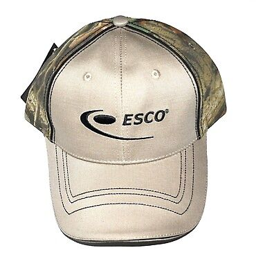 £5.67 • Buy ESCO Corporation Mining Construction Hat Tan And Advantage Timber Camo Strapback