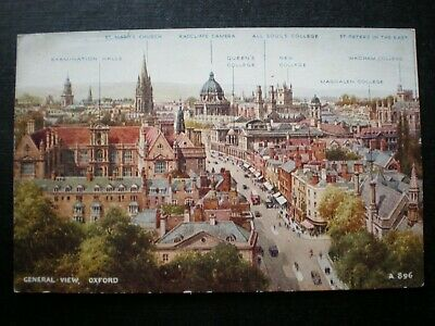 £1.85 • Buy Oxford General View & Colleges Named Oxfordshire Postcard