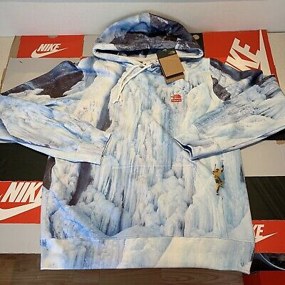 $ CDN334.59 • Buy Supreme X TNF The North Face Ice Climb Hooded Sweatshirt / Hoodie | Size L Large
