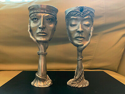 £256.65 • Buy (LOT) Royal Selangor Lord Of The Rings Galadriel & Celeborn Pewter Goblet No Box