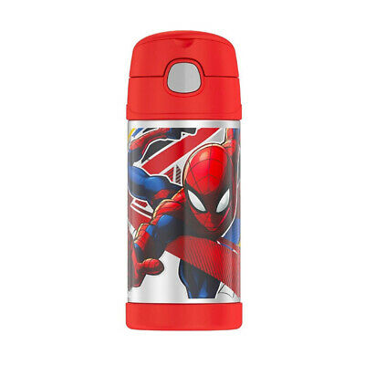 AU21.95 • Buy THERMOS FUNTAINER® WATER BOTTLE 355ML Spiderman