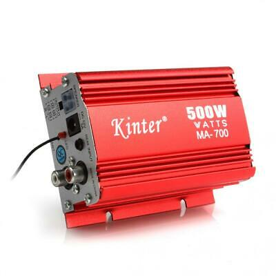 $18.91 • Buy Kinter MA-700 Car Motorcycle 2 Channels Audio AMP Amplifier +Remote Control
