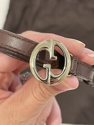 AU250 • Buy GUCCI Brown Belt