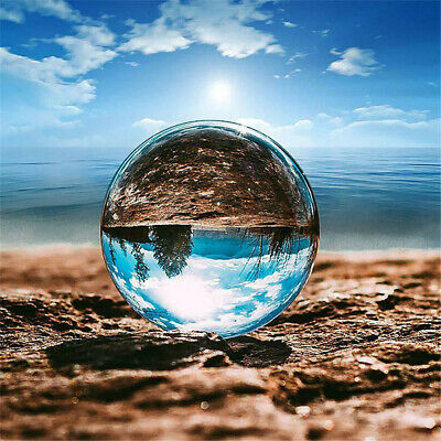 £9.99 • Buy 100MM Clear Crystal Ball Photography Glass Lens Sphere Ball Photo Decoration New