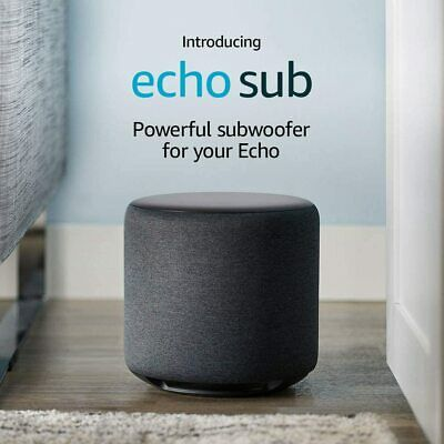 AU199.95 • Buy Echo Sub – Powerful Subwoofer For Your Echo – Requires Compatible Echo Device