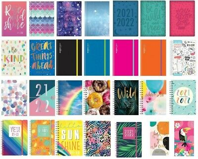 £2.49 • Buy 2021 2022 A5 Academic Diary Mid Year Week To View Day A Page Student School