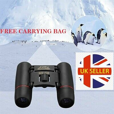 £7.99 • Buy Mini Day And Night Vision Telescope 30 X 60 Zoom Compact Binoculars With Pouch