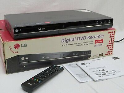 £120 • Buy LG DRT389H DVD Recorder And Digital Freeview TV HDMI Output **Lovely Condition**