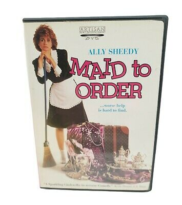 $11 • Buy MAID TO ORDER (DVD, 2002, FS) Ally Sheedy Beverly D'Angelo Dick Shawn Rare 📀