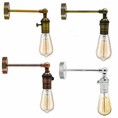 £9.88 • Buy Vintage Retro Industrial Loft Rustic E27 Wall Sconce Porch Switch Lights Lamp UK