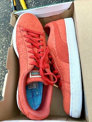 AU63.10 • Buy Puma Mens Suede Shoes Sz 11 Red Sneaker Skater Sport Lifestyle Casual