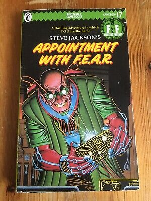 AU27.80 • Buy Appointment With F.E.A.R Fighting Fantasy 1st Ed 1985 Clean Sheet Numbered Spine