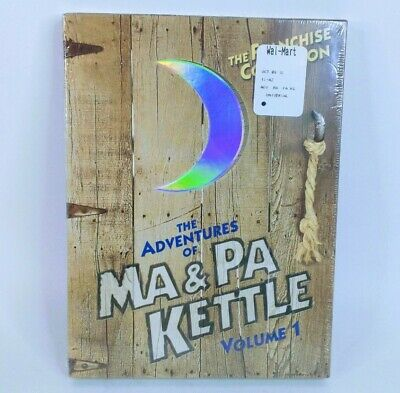 $8.99 • Buy The Adventures Of Ma And Pa Kettle - Volume 1 (2-Disc Set), DVD - SEALED NEW