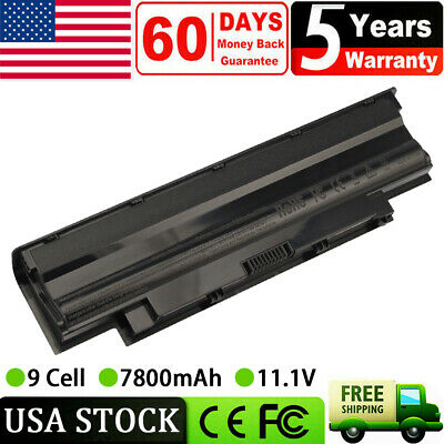 $22.99 • Buy 9Cell Battery J1KND For DELL Inspiron 3520 3420 M5030 N5110 N5050 N4010 N7110 PC