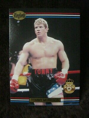 £2.99 • Buy Ringlords 1991 Tommy  The Duke  Morrison  #09 Trading Card Mint