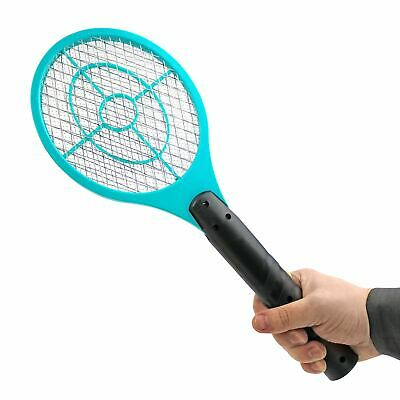 £6.99 • Buy Electric Fly Insect Bug Zapper Bat Racket Swatter Bug Mosquito Wasp Pest KIller