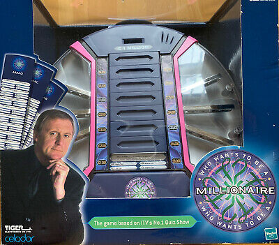 £19.99 • Buy Who Wants To Be A Millionaire Electronic Game New/sealed 2000 Tiger/hasbro Games