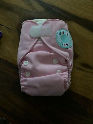£4.50 • Buy Reusable Washable Newborn Pocket With 2 Inserts