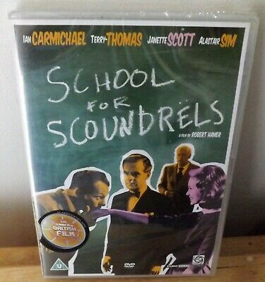 £9 • Buy School For Scoundrels (DVD) (1960) Ian Carmichael, Terry-Thomas - New Sealed R2