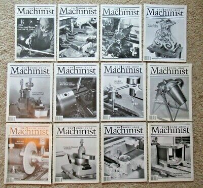 $4.50 • Buy THE HOME SHOP MACHINIST Magazine, 12 Issues, 1985 - 1996, ** You Choose **