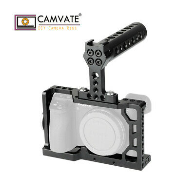 $ CDN41.23 • Buy CAMVATE Camera Cage For Sony A6500 With Top Handle Handgrip