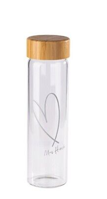 £10.30 • Buy Mrs Hinch TESCO X Glass Water Bottle 550 Ml Sports Gym Reusable NEW Signed Post