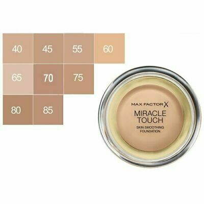 £6.99 • Buy Max Factor Miracle Touch Skin Smoothing Foundation 11.5g - CHOOSE SHADE
