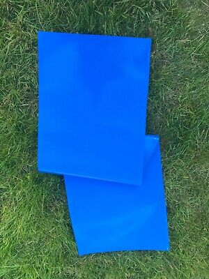 £5.50 • Buy Deck Chair Recovering Replacement Fabric Material Strong Pvc Coated Canvas BLUE