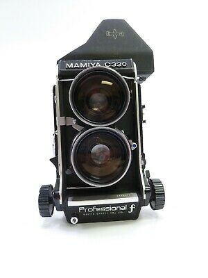 £360.16 • Buy Mamiya C330 F Twin Lens Reflex Camera Outfit With 65MM F3.5 Blue Dot Lens In EC