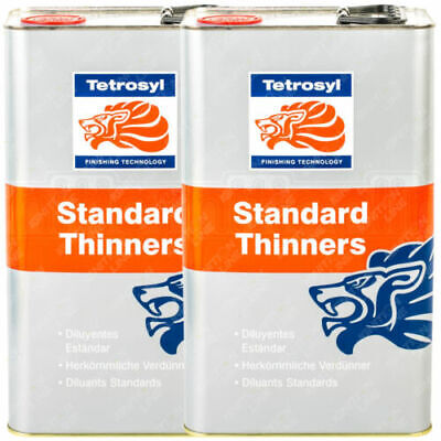 £22.99 • Buy 2X5Ltr (10L) STT005 Std Paint Thinners Cellulose Cleaning Gun Cleaner Primer