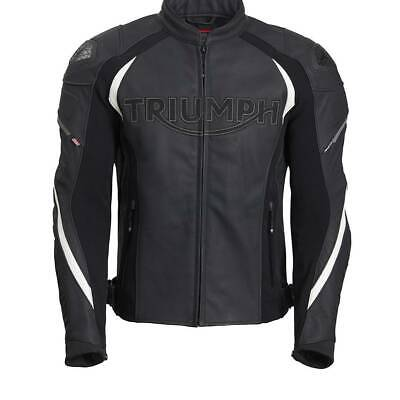 £349 • Buy New Genuine Triumph Triple Tri-stretch Leather Racing Jacket / Jeans MLPS20530