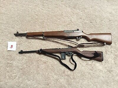 """$15 • Buy M-1 Garand And M-1 Carbine For 12"""" Action Figure 1:6 Scale"""