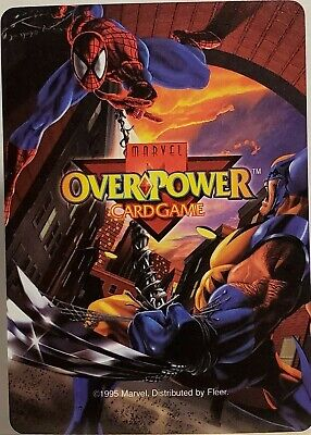 $1 • Buy 1995 Marvel Fleer Over Power Card Game You Pick Complete Your Collection