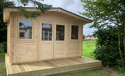 £3685 • Buy The Oxford Summerhouse And Log Cabin