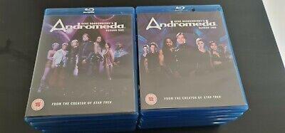 £11 • Buy Andromeda Series 1 And 2 Complete Series 1-2 5-Disc BLU-RAY Boxset Damaged Case