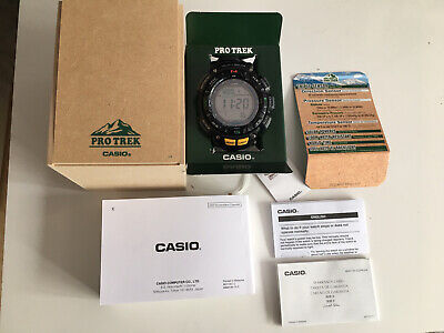 £150 • Buy Casio Protrek Triple Sensor Watch With Tags Very Light Scratches
