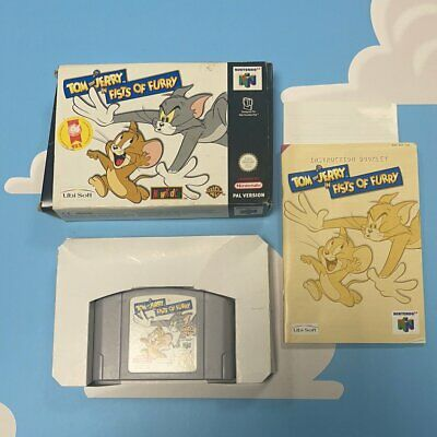 £129.99 • Buy Tom & Jerry In Fists Of Furry Nintendo 64 Complete