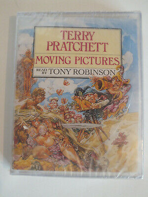 £4.99 • Buy New Sealed - Moving Pictures By Terry Pratchett - Audiobook Cassette
