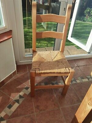 £30 • Buy 6 Wooden Beech Dining Room Chairs