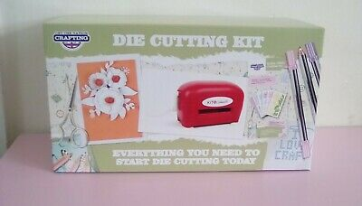 £28.99 • Buy KIT N CABOODLE Die Cutting Machine With Dies,cards Crafting Gift Box