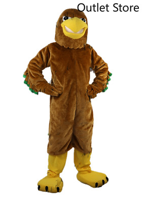 £270.29 • Buy Halloween Brown Eagle Mascot Costume Cosplay Party AD Clothing Carnival Xmas