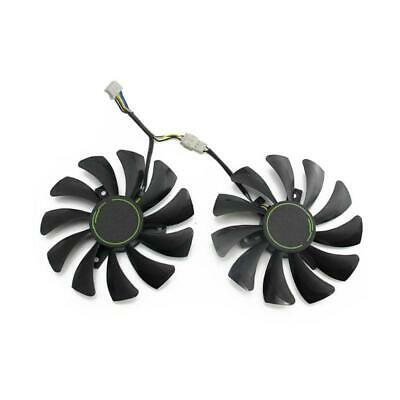 AU13.25 • Buy 85MM HA9010H12F-Z 4Pin Cooler Fan Replacement For MSI GTX 1060 OC 6G GTX 960