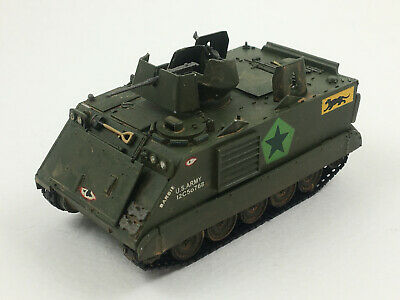 $40 • Buy M113 Armored Personnel Carrier Revell 1:72 Built & Painted Tank