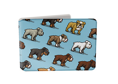 £3.95 • Buy Pixel Bulldogs, Dog Oyster Card Holder / Travelcard, Bus Pass Wallet