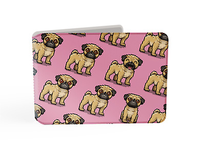 £3.95 • Buy Pixel Pugs, Dog Oyster Card Holder / Travelcard, Bus Pass Wallet